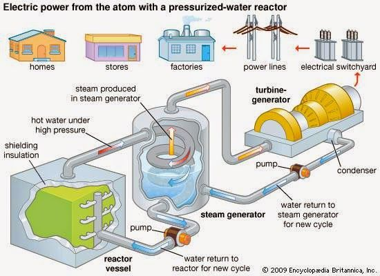 Nuclear Power Plant operation Study Electric power, Nuclear