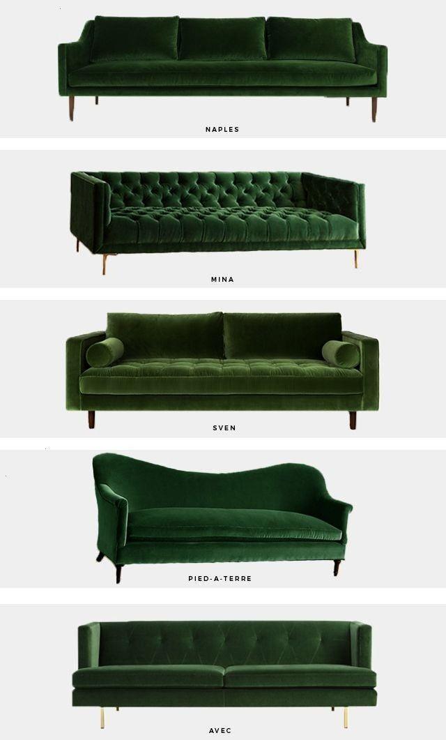 alert das grüne samt sofa  Mint Modern Home  Angelica Heitzinger Dekor trend alert das grüne samt sofa  Mint Modern Home  Angelica Heitzinger Dekoration Blog tr...
