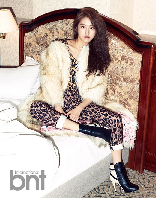 4Minute's Ga Yoon bnt International December 2013