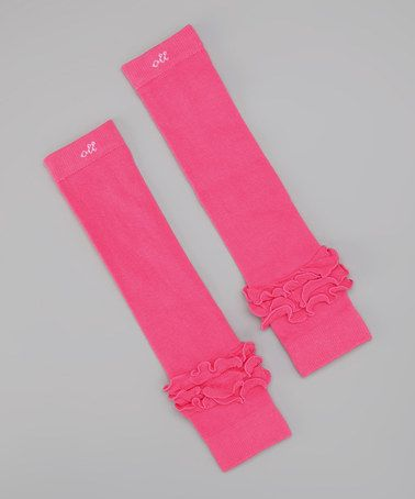 Take a look at this Hot Pink Leg Warmers by Ooh La Leggies on #zulily today!