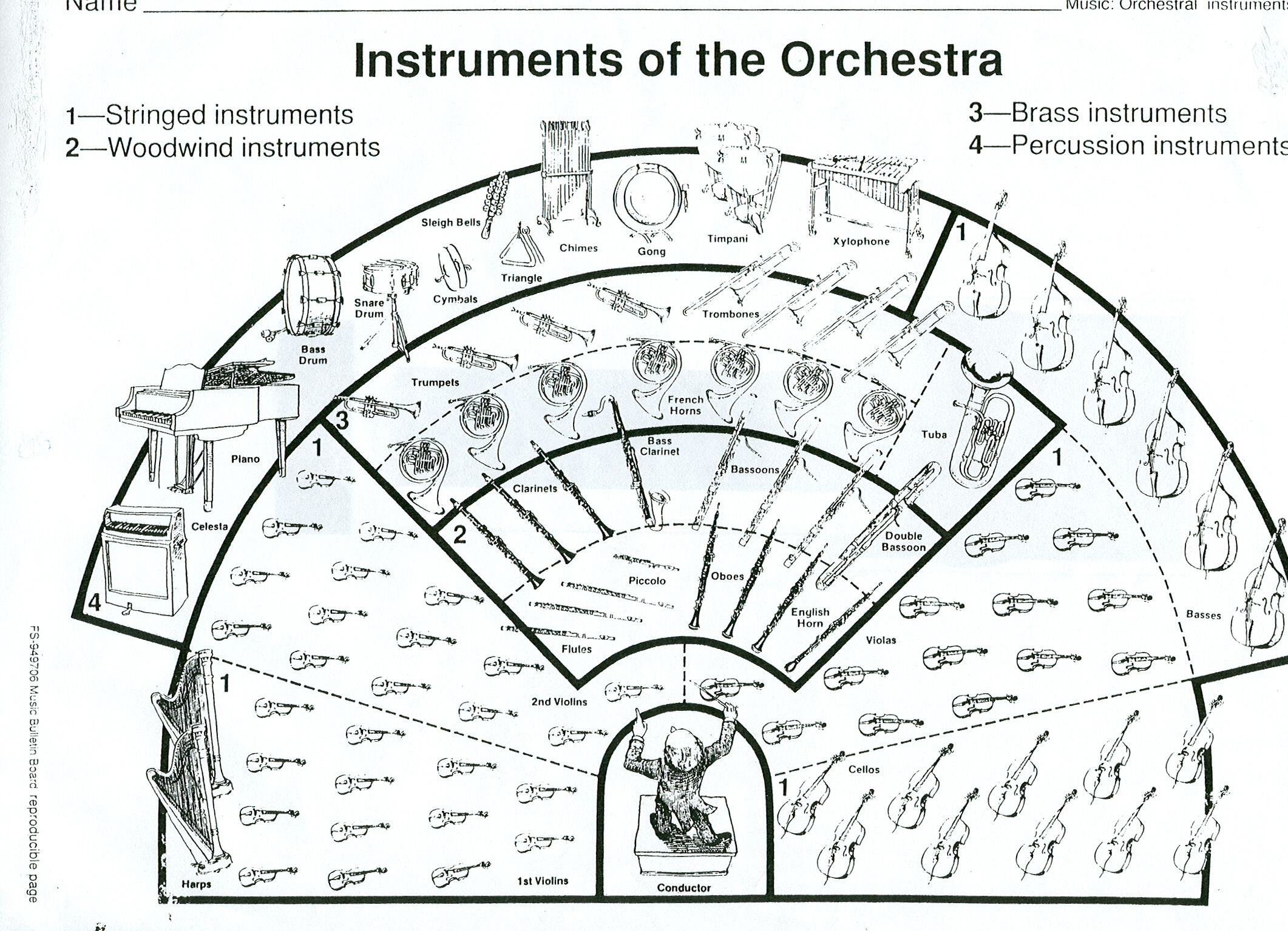 Pin Di Amanda Hinson Su Learning About The Symphony Orchestra