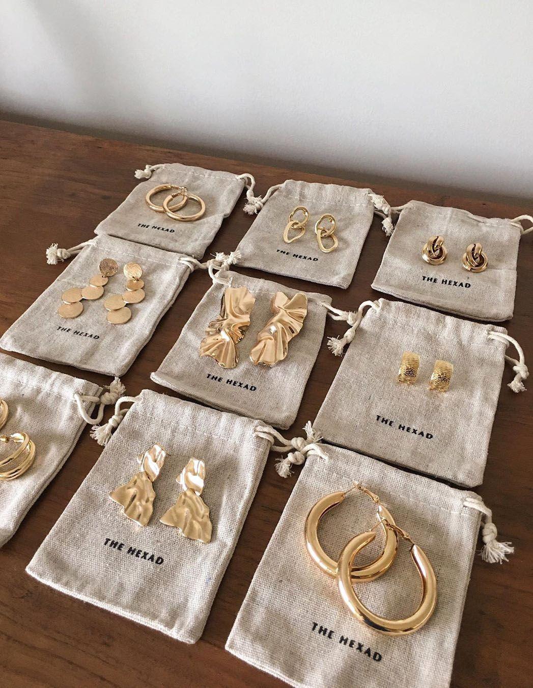 www.thehexad.com 💛#goldhoops #jewelry #earrings