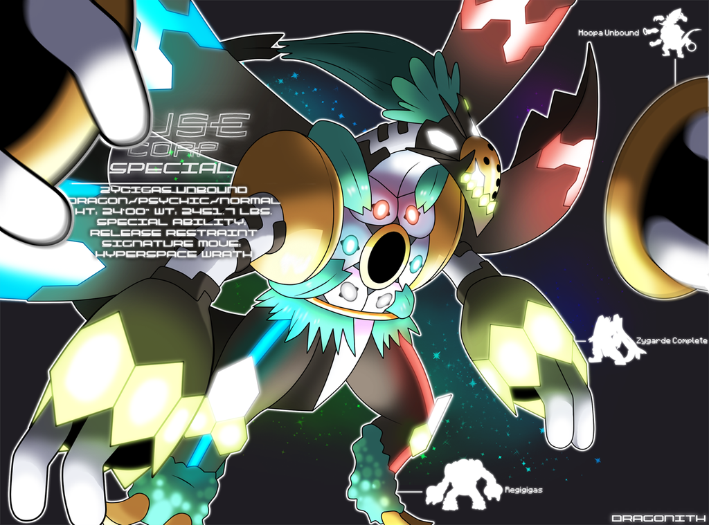 F.U.S.E Corp Special: Zygigas Unbound by Dragonith on ... Xerneas Yveltal Zygarde Wallpaper