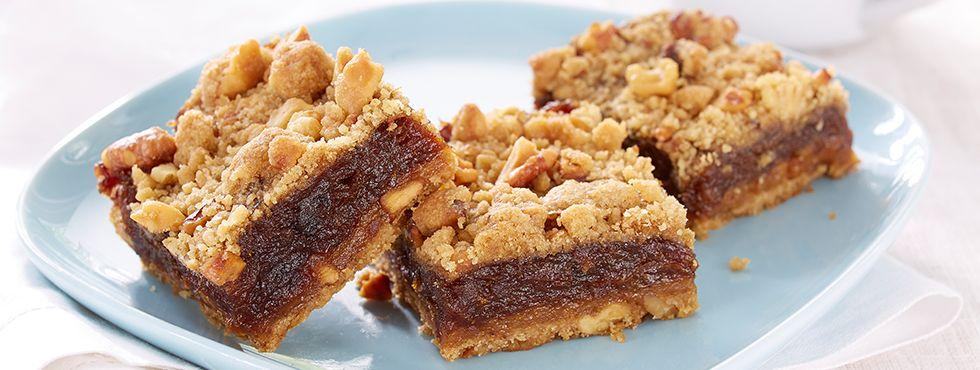 Gluten Free|Nutty Gluten Free* Date Squares