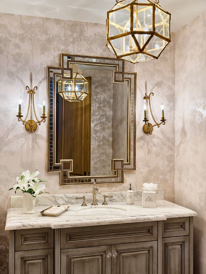 Bathroom lighting is Suzanne Kasler Morris Lantern. Kim Scodro ...