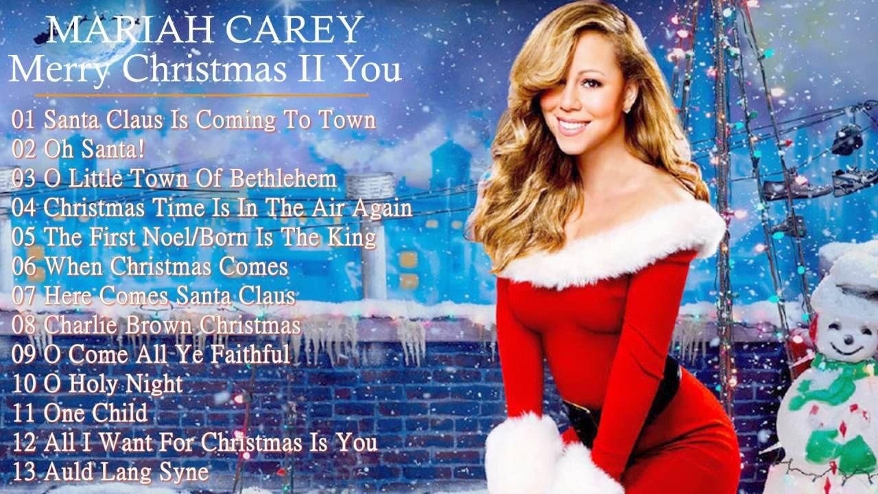 Mariah Carey Christmas Album Mariah Carey Christmas Classic Christmas Songs Best Christmas Songs