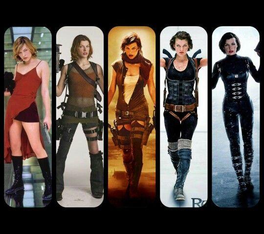 Resident Evil Alice Resident Evil Movie Resident Evil Cosplay