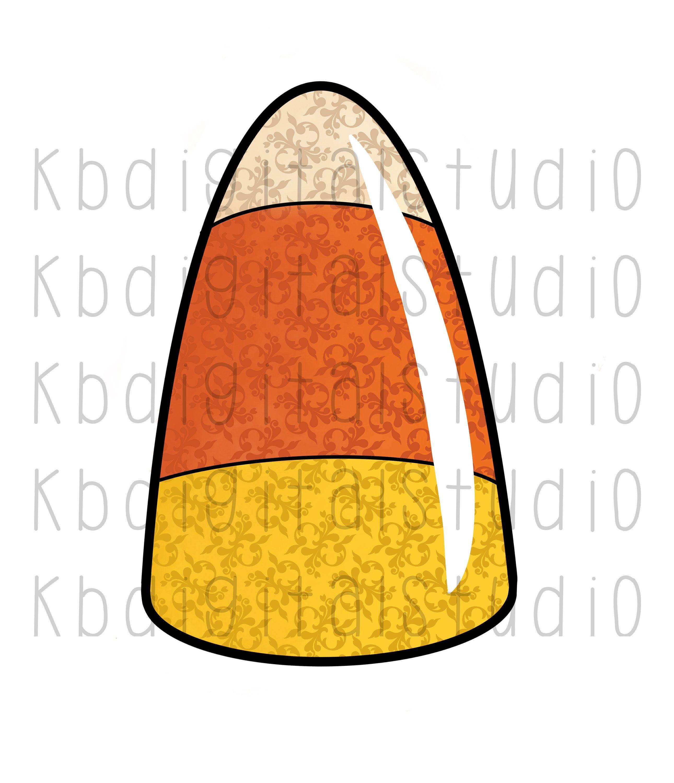 Fancy Candy Corn Clip Art Full Color Png Transparent Etsy Clip Art Print Candy Transparent Background