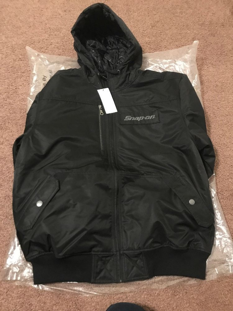 Snap On Tools Winter Jacket 2018 Size L Zipper Poshmark Leatherjacket Sweater Fashion