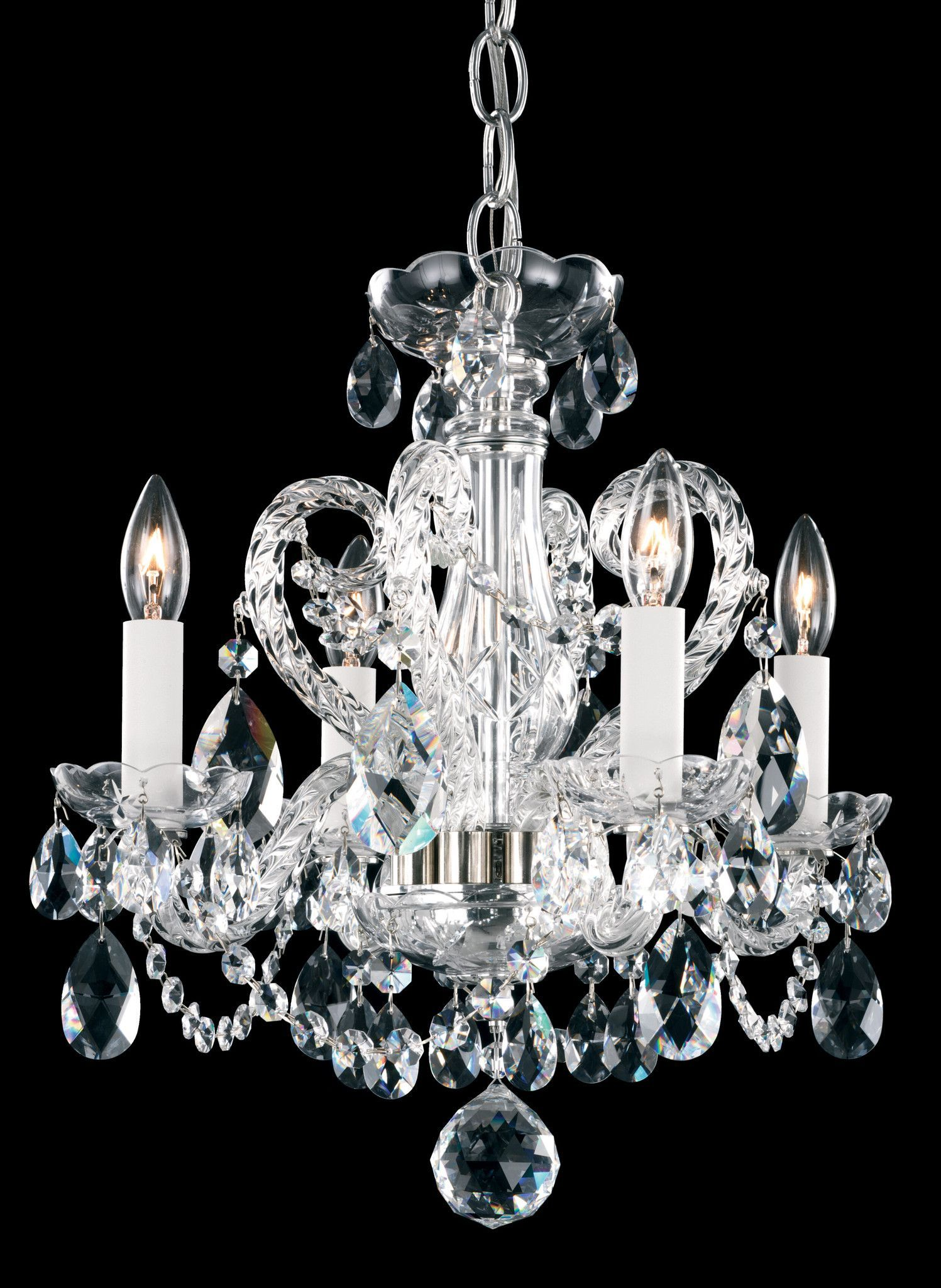 Schonbek nv3904 novielle 14 inch mini chandelier products the schonbek novielle is a crystal mini chandelier available in aurelia polished gold and polished silver finishe crystal style is sure to complement arubaitofo Choice Image