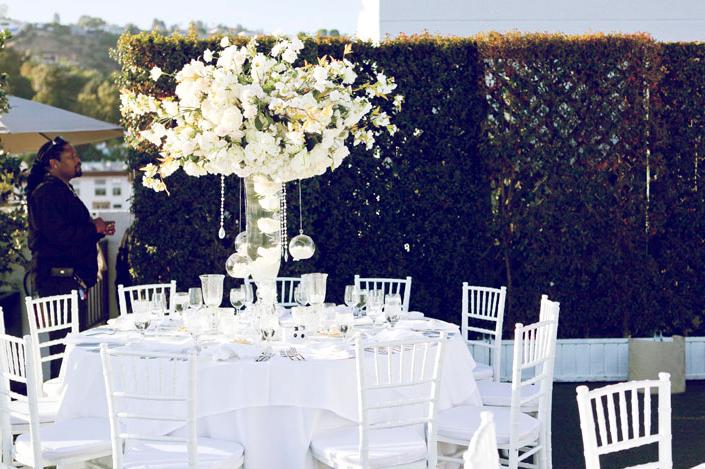 Elegant Wedding Table Setting
