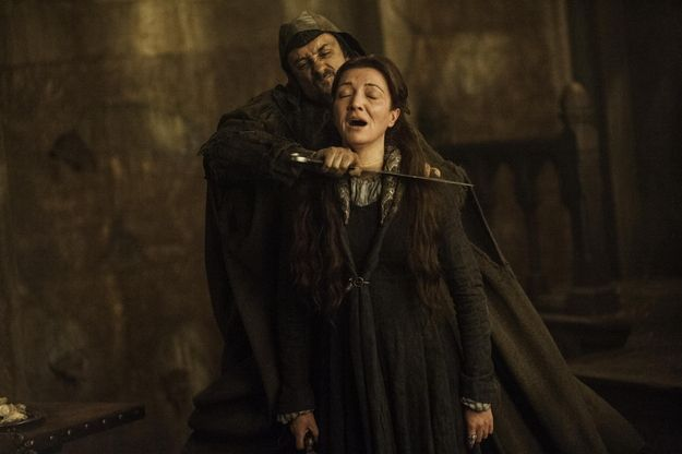 Game Of Thrones Destroyed Us All With The Red Wedding Red Wedding Michelle Fairley Shocking Games