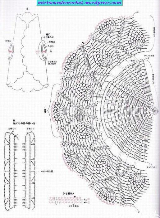 Chalecos circulares | Mi Rincon de Crochet | Puntadas | Pinterest ...