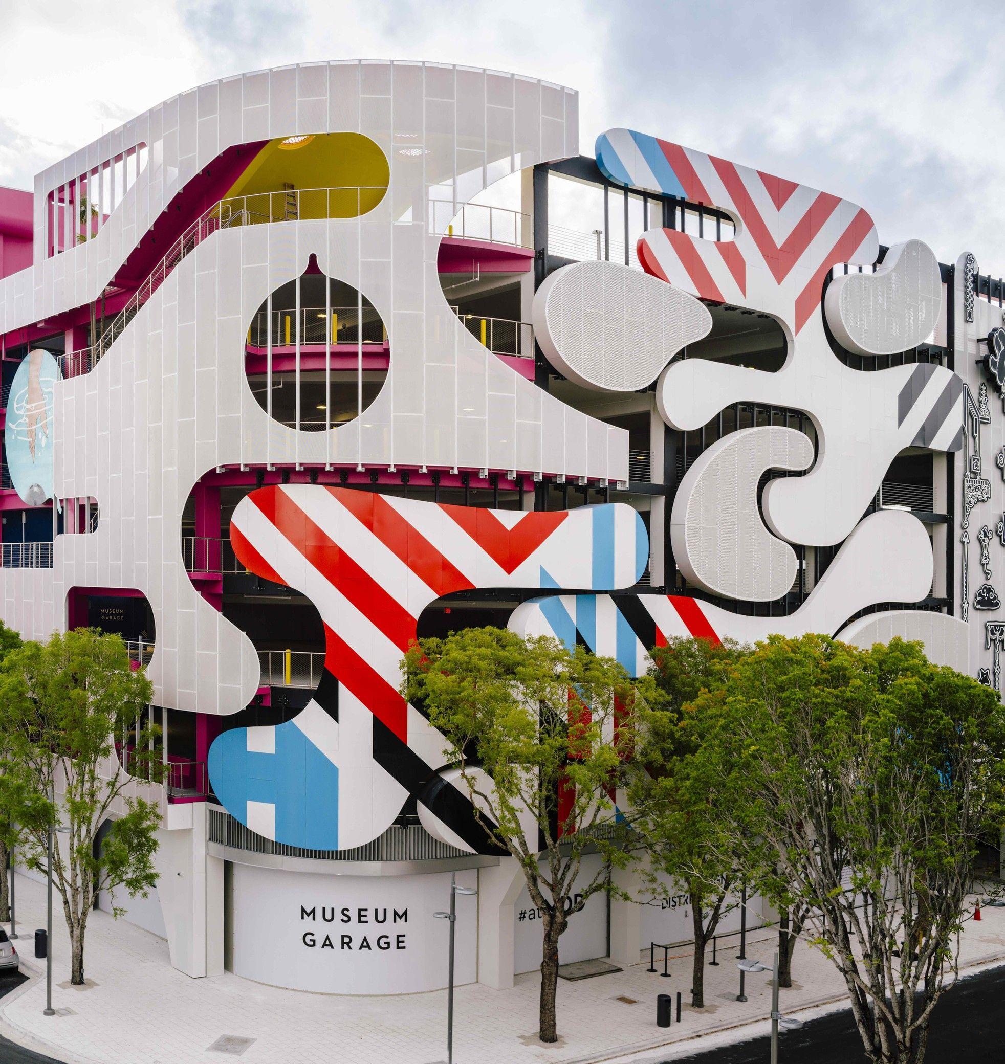 Miami Museum Garage Exterior Facade Architecture Architecture Facade Design