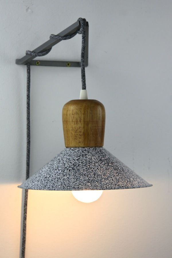 Geometric wall lighting bracket hook frame pendant hanging ...