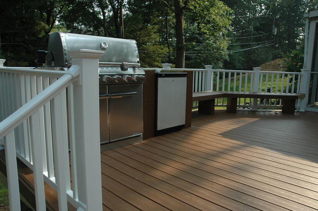 Spiced Rum Trex Deck | Home design ideas