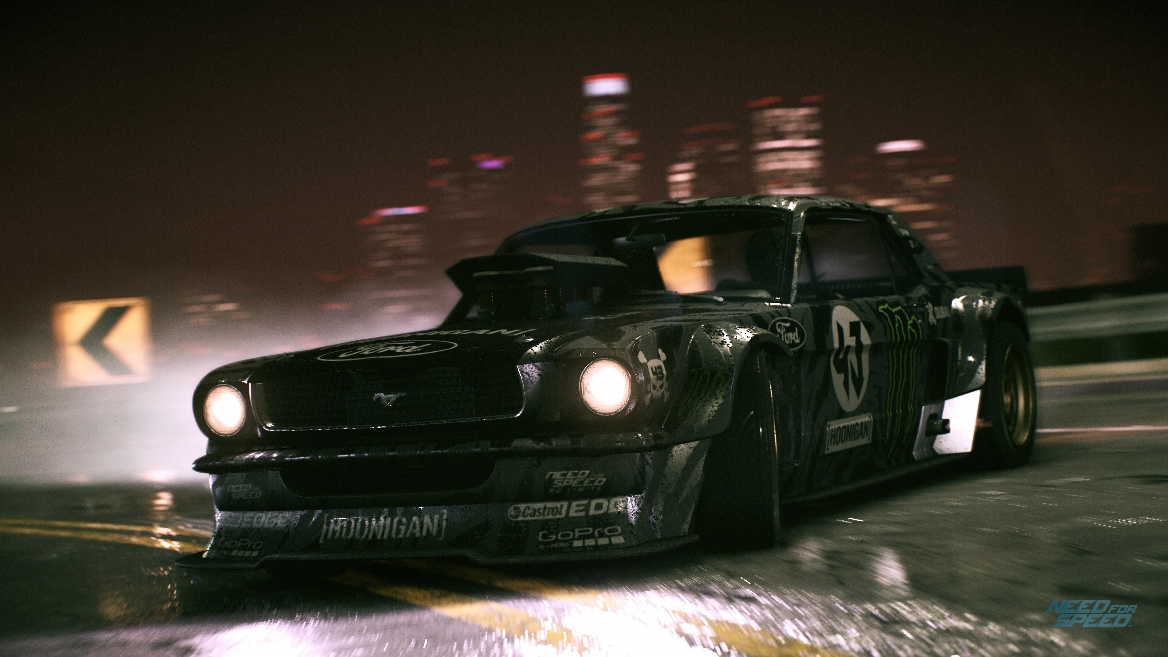 Hoonigan Ken Block Monster Hunicorn Ford Need For Speed Block43 Game 2015 Cars Mustang Car 4k Need For Speed Need For Speed Pc Sports Car Wallpaper