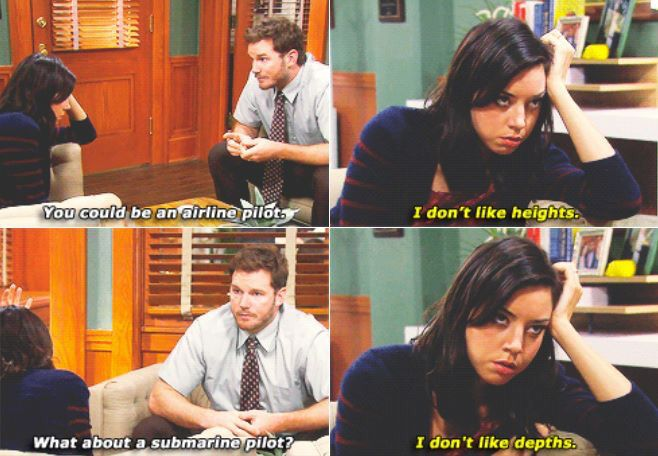 Andy Dwyer And April Ludgate Parks And Rec Job Search Fav Tv
