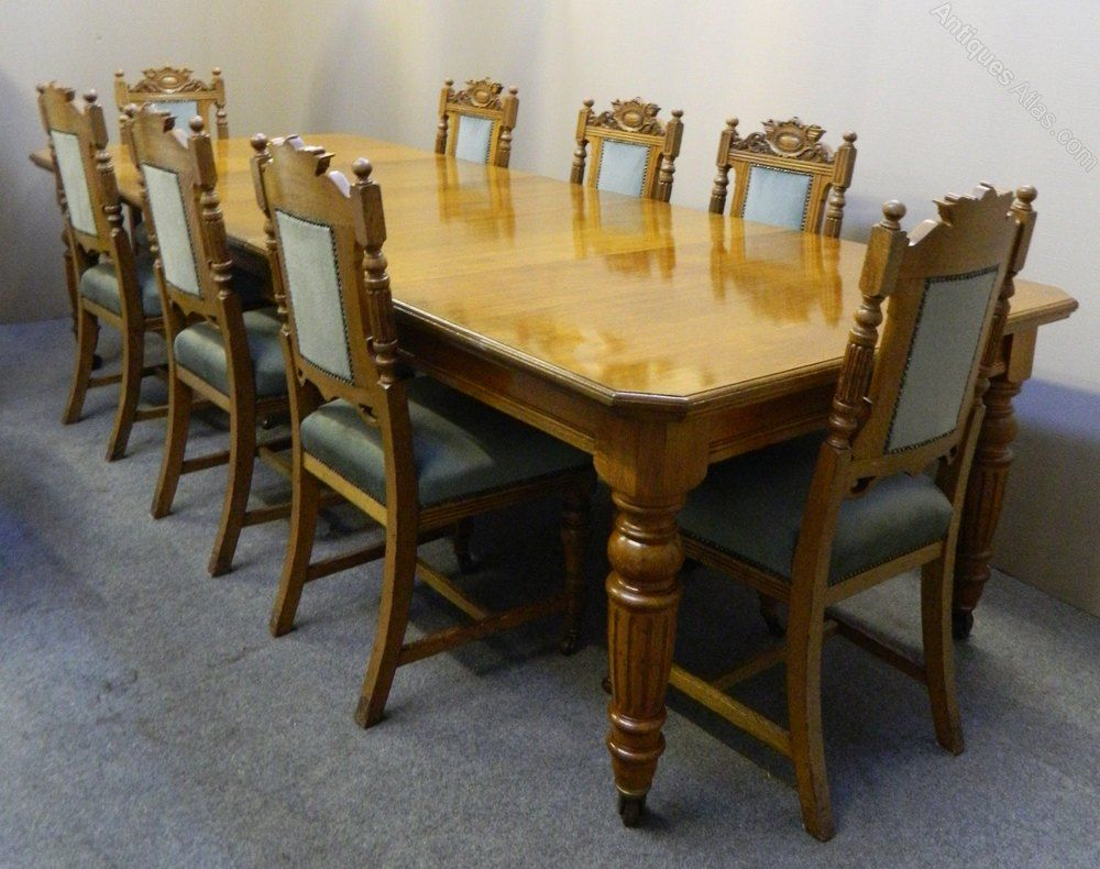 8 Chair Wooden Dining Table In 2020 Wooden Dining Tables Dining