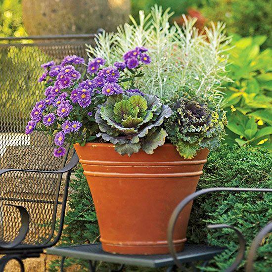 15 Stunning Container Vegetable Garden Design Ideas Tips: 33 Stunning Fall Container Garden Ideas