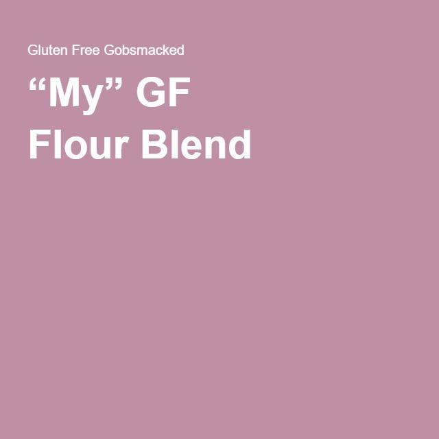"""My"" GF FlourBlend"