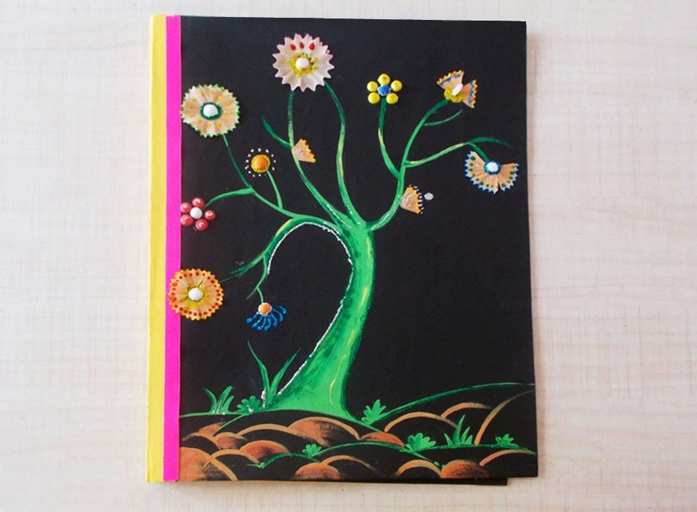 Kids Project Ideas How To Make Kids Project School File Step By