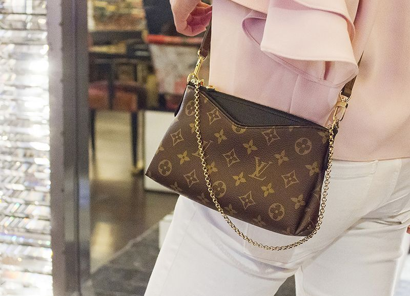 54663e831a Louis Vuitton Clutches PALLAS CLUTCH [London department store new ...