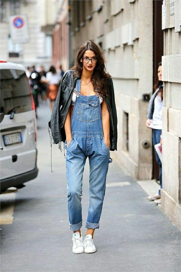 Bien-aimé La salopette en jean , une survivance ou un hit moderne  EQ86