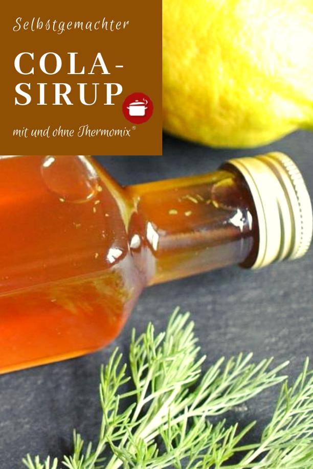 Rezept Cola-Sirup aus Colakraut