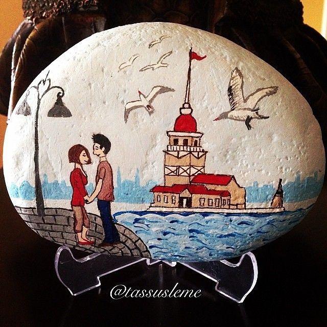 Instagram Photo By Tassusleme Yelda Via Iconosquare Rock Painting Art Pebble Art Stone Art