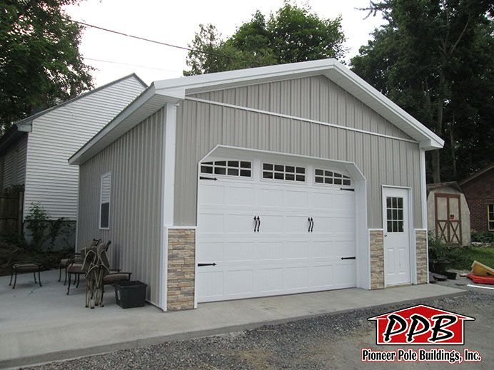 20 W X 24 L X 10 4 H Id 454 Total Cost 11 273 Pole Buildings Shed Plans Shed