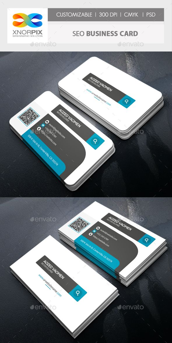 Seo Business Card | Business cards, Seo and Card templates