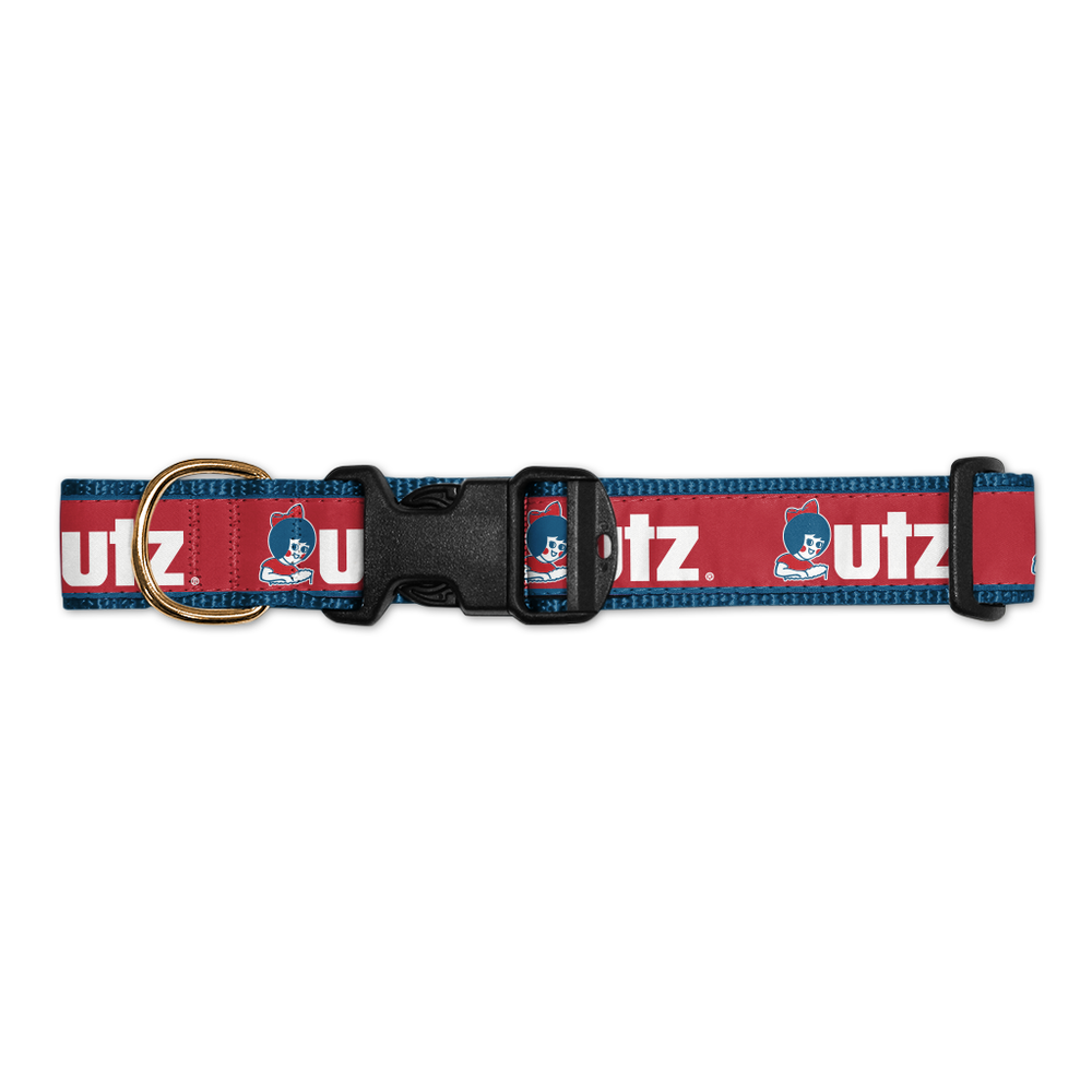 Utz Logo (Red) / Dog Collar in 2020 Red dog collar, Red