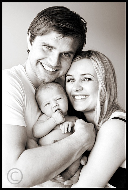 Newborn Family Portrait Ideas