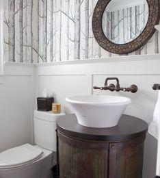 pinraleigh lench on interior design   powder room