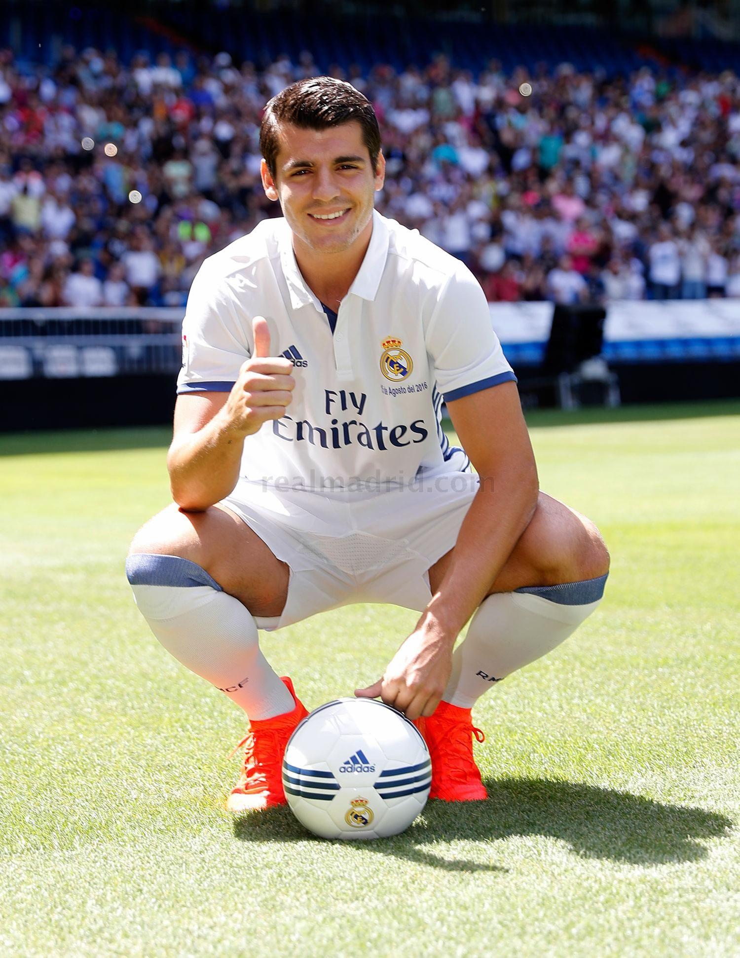 Real Madrid Cf Web Oficial Del Real Madrid Cf Real Madrid álvaro Morata Madrid