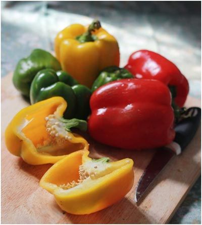 20 Amazing Benefits Of Bell Peppers For Health #bellpeppers