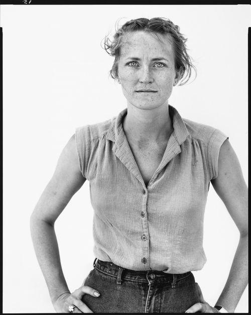 Peggy Daniels, cashier, Giddings, Texas, May 7, 1981