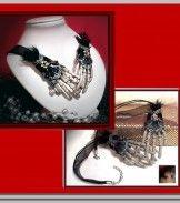 Skeleton Choker Necklace $25.00