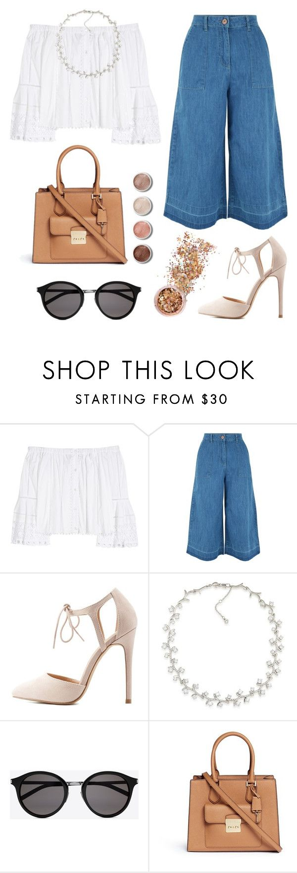 """""""Delightful"""" by live-laugh-love-btr ❤ liked on Polyvore featuring Carolina Herrera, New Look, Charlotte Russe, Carolee, Yves Saint Laurent, Michael Kors, Terre Mère and In Your Dreams"""