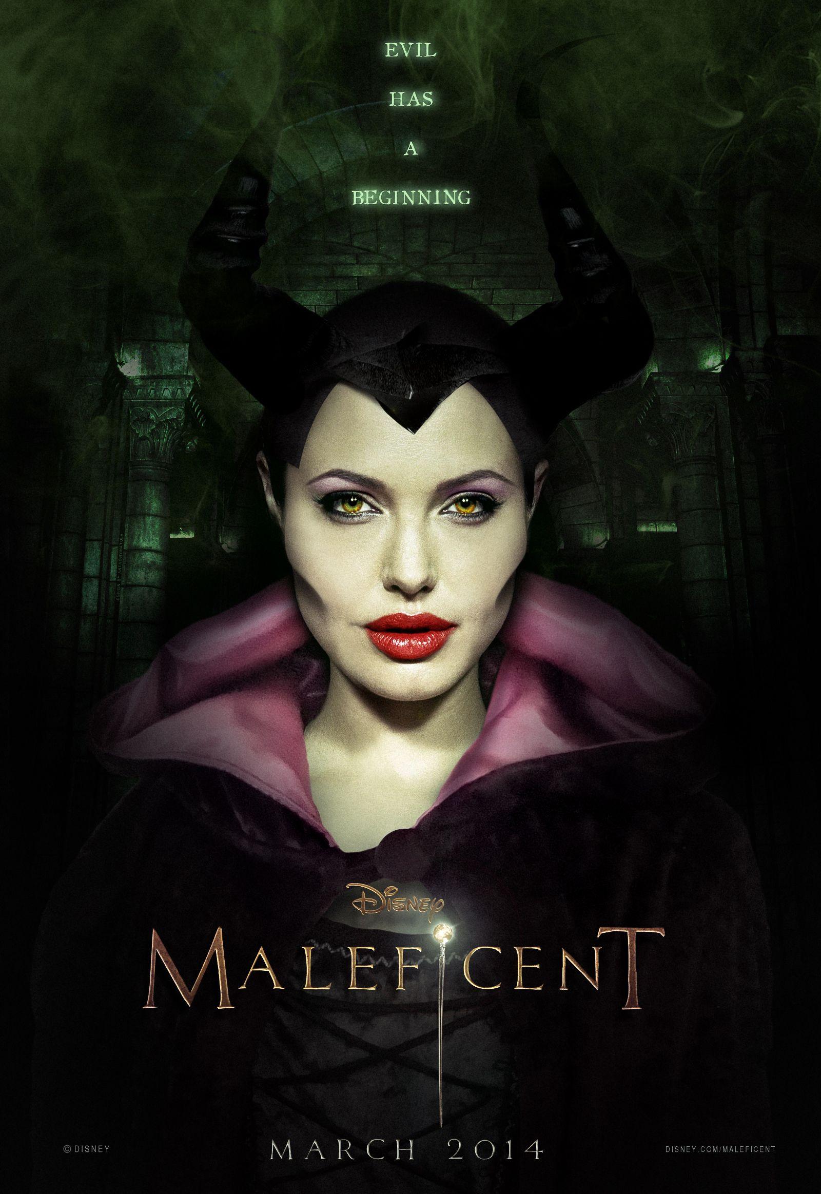 Maleficent (Angelina Jolie - 2014)   Malegica   Pinterest   Poster ...