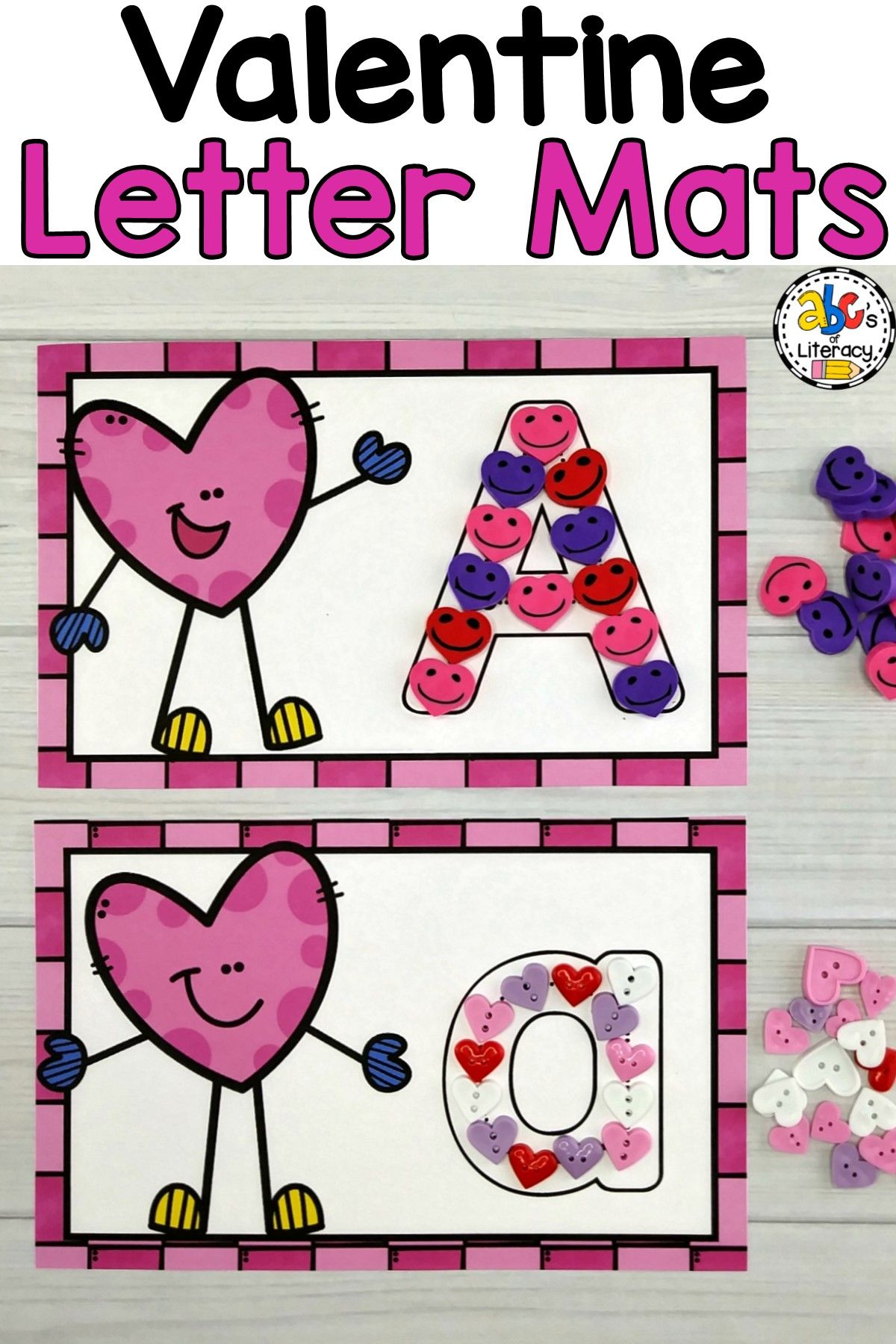 Valentine Letter Mats