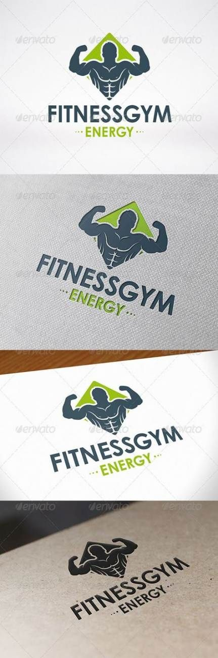 50+ ideas fitness logo design inspiration personal trainer #fitness #design