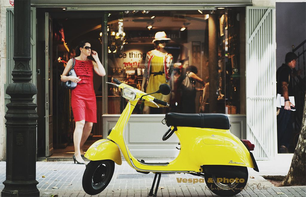Vespa yellow cool (+2 in comments)