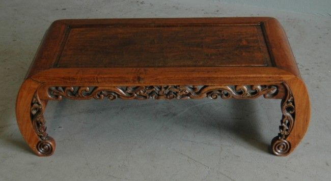 Wonderful Oriental Chow Table | 283: ORIENTAL CHOW TABLE : Lot 283