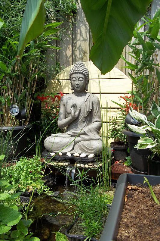 My Garden Pond Buddha Garden Zen Garden Zen Garden Design