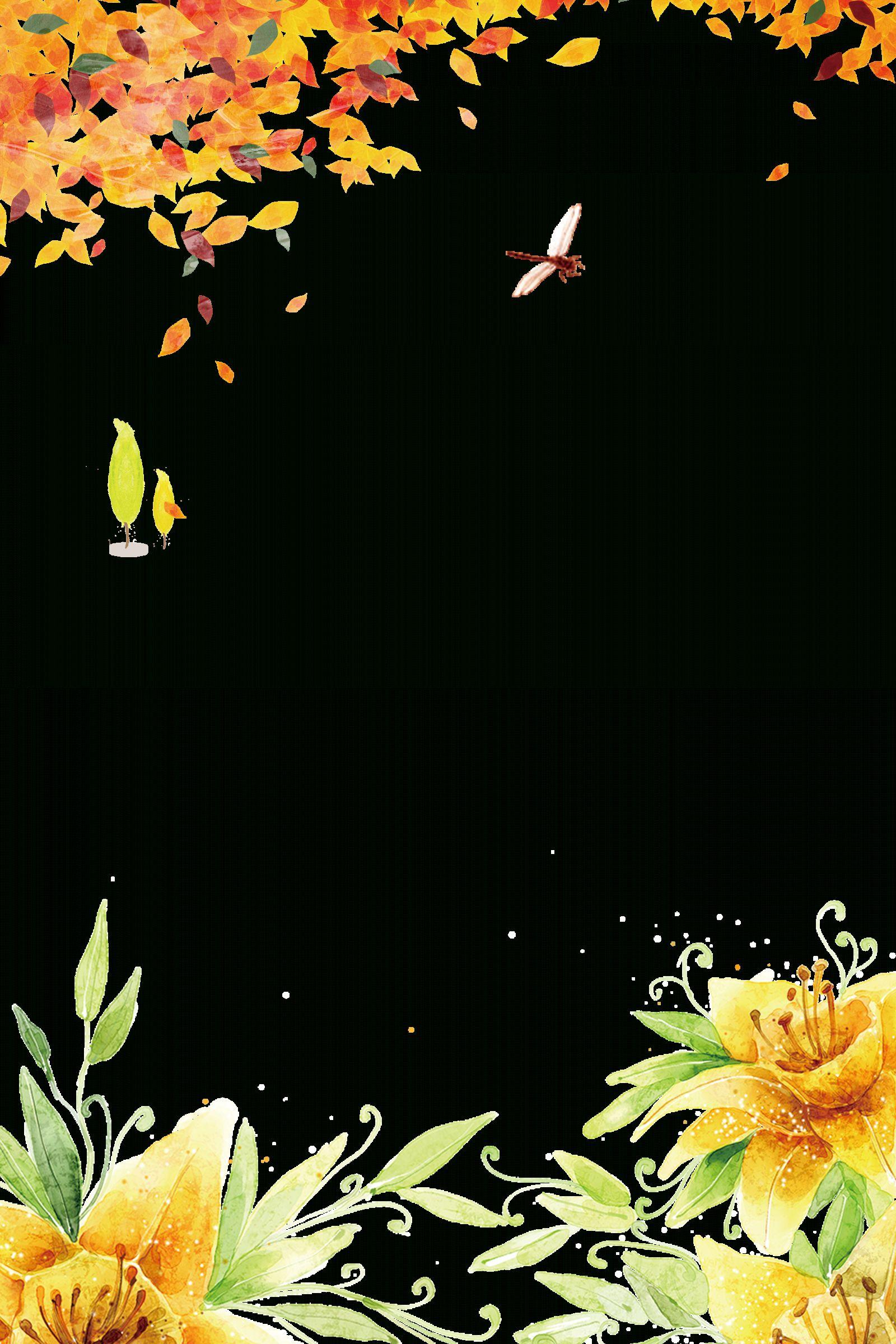 10 Falling Flower Border Clipart Png Flower Border Clipart Flower Border Clip Art Borders