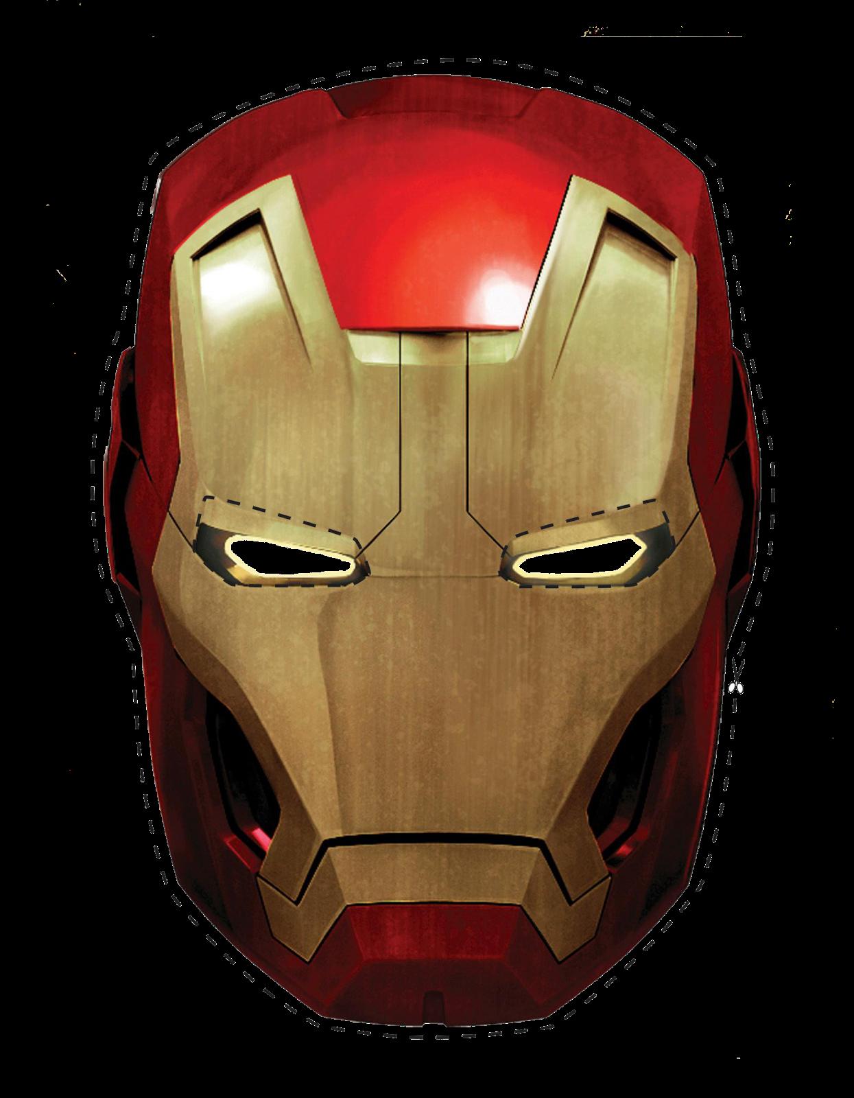 Kit Festa Homem de Ferro para imprimir | Mascaras, Máscaras para ...