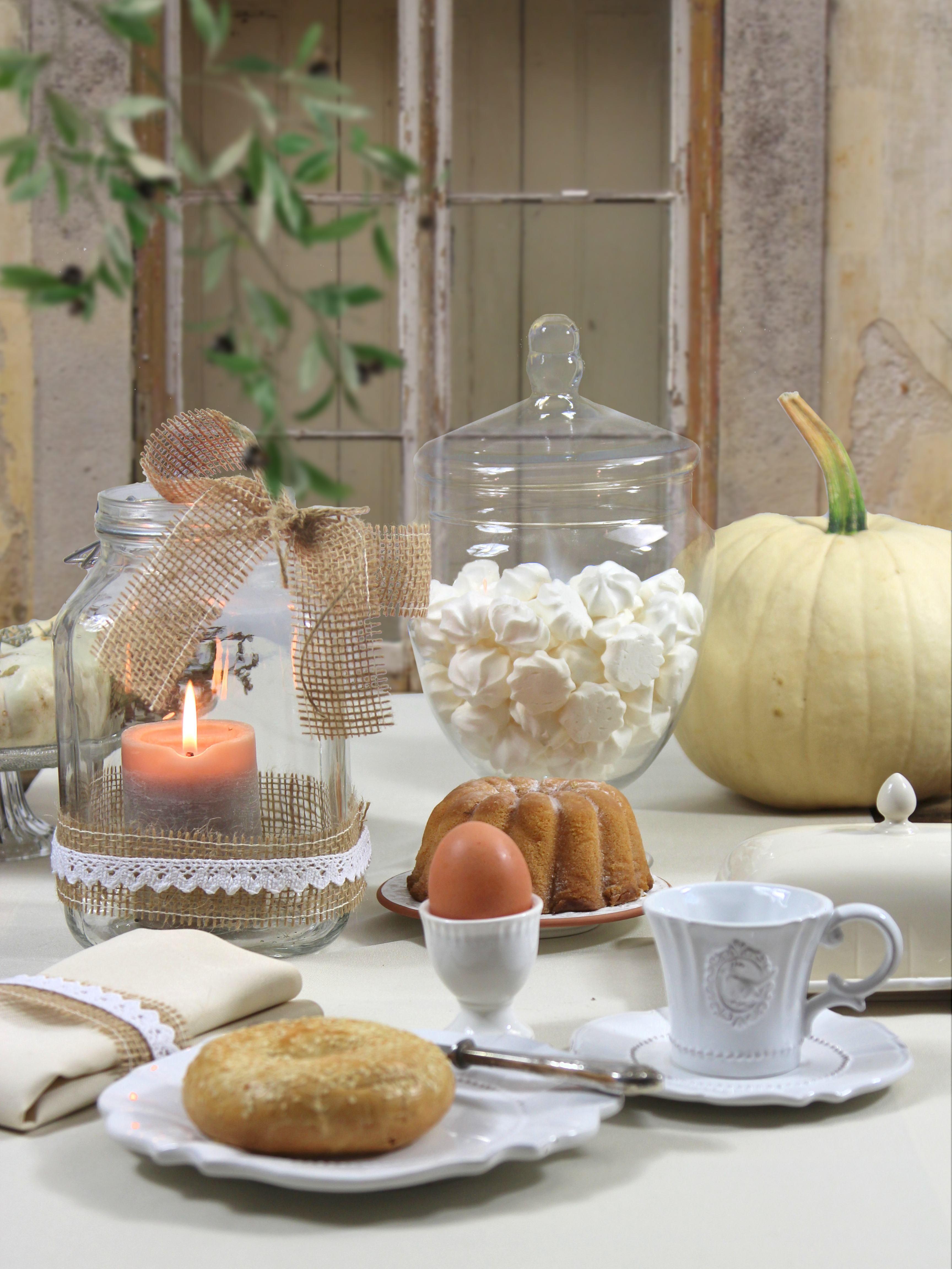guten morgen romantischer fr hst ckstisch gedeckt mit sander tischdecke gala zu bestellen bei. Black Bedroom Furniture Sets. Home Design Ideas
