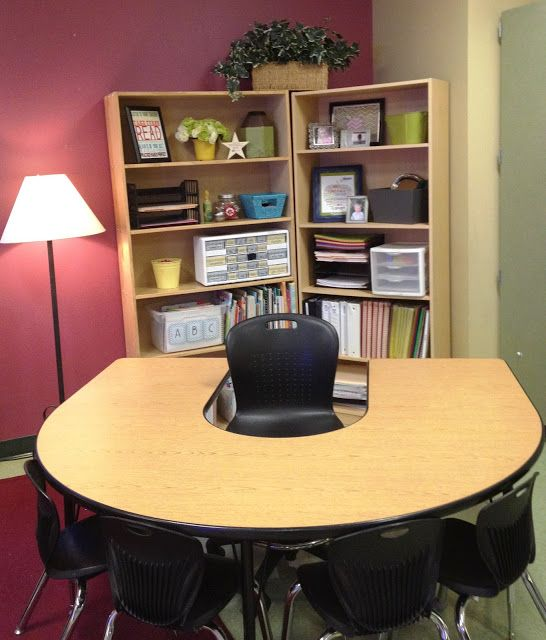 Decorate Small Reading Area: Teacher Area...Debating Whether To Get Rid Of My Desk Next